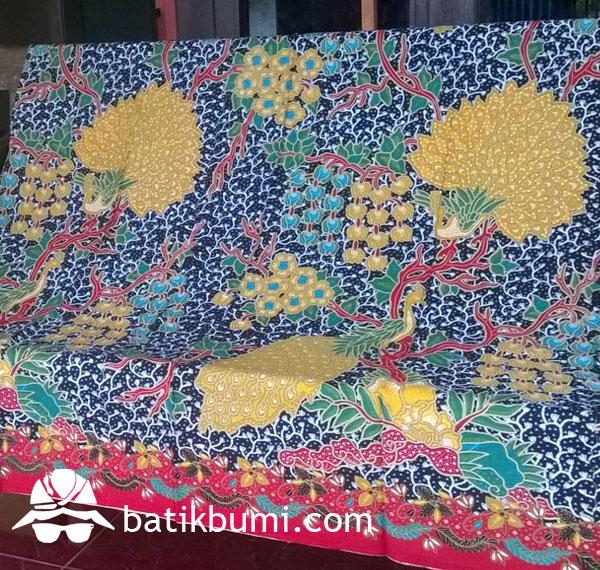 Kain Batik Printing Sragenan Merak