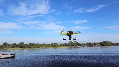 Dron anfibio HexH2o