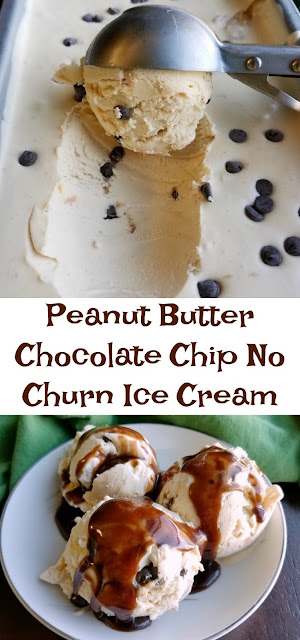 Smooth, creamy and oh so good! This no-churn ice cream is exploding with peanut butter flavor and is dotted with chocolate chips. It is almost too easy!  Options