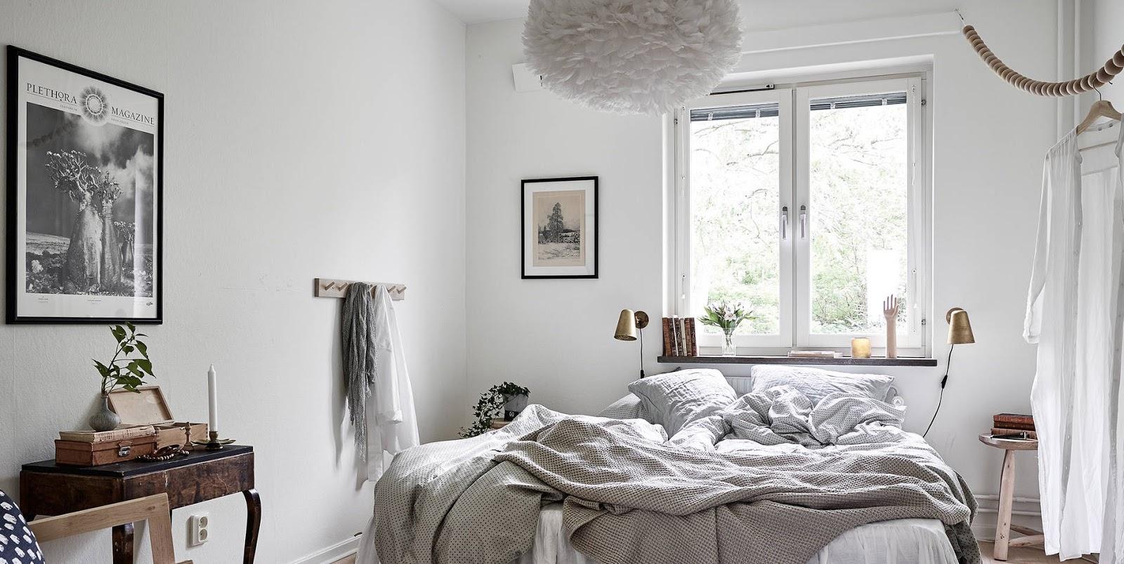 Idee per arredare una camera da letto in accogliente stile nordico  ARC ART blog by Daniele Drigo