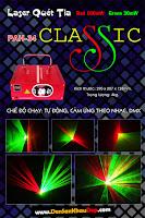 Đèn laser quét tia
