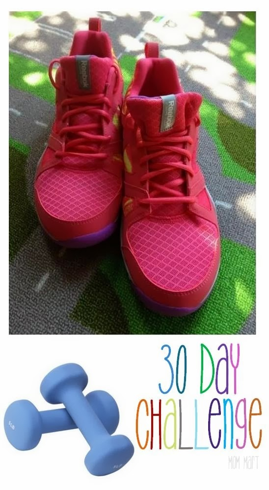 30 Day Fitness Challange with Free Printable Workout