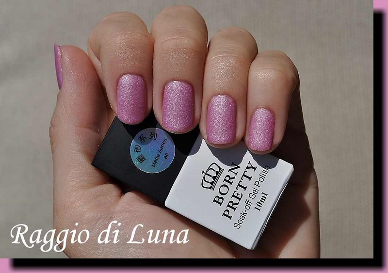 Raggio di Luna Nails: BP UV gel polish Matte Series n° 3911