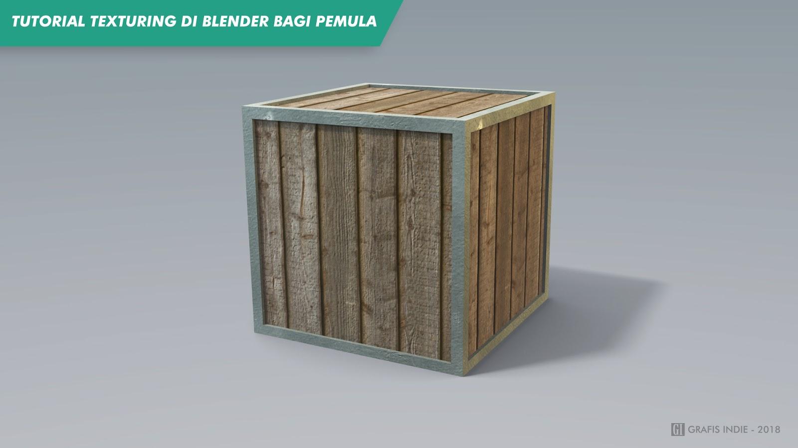 Tutorial Texturing Di Blender Bagi Pemula