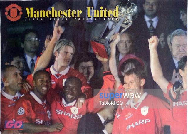 Manchester United Juara Piala Toyota 1999