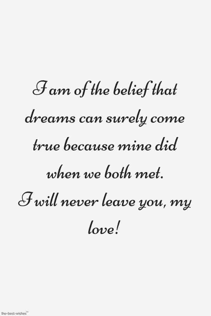 my love quote for him
