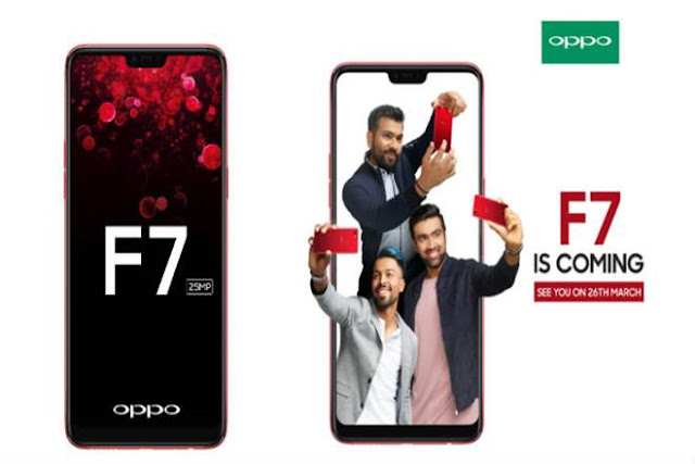 Oppo F7 India launch set for March 26: Key specifications, features