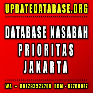 Jual Database Nasabah Jakarta