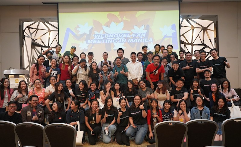 Who is webnovel? Here's what happened in their first-ever PH fan meet