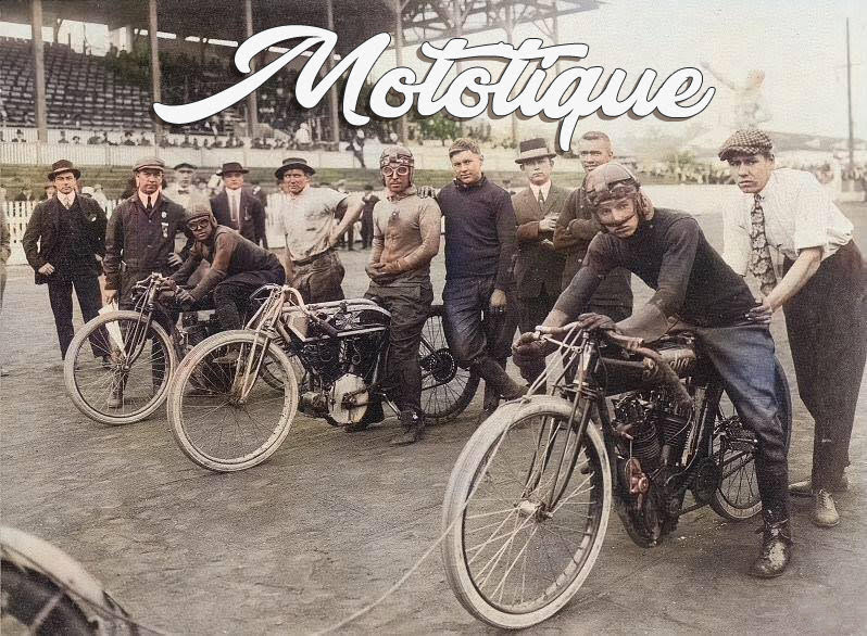 Mototique: Motordrome Racing's Darkest Days, Newark, NJ  & Ludlow