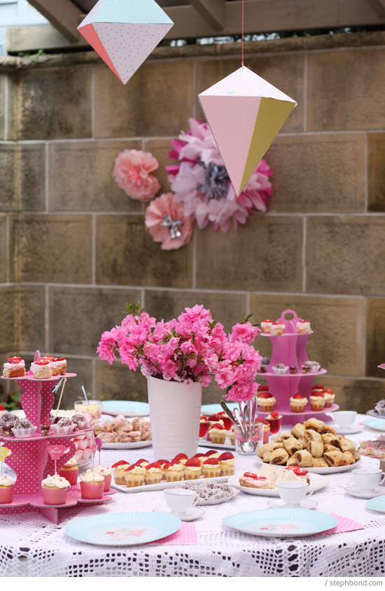 Bondville My Daughter S High Tea Party 7th Birthday