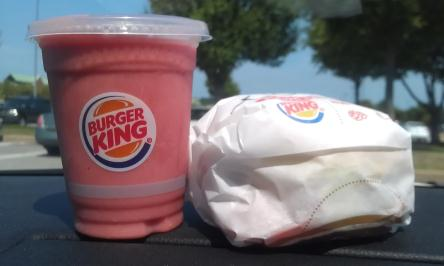 Burger King Is Letting You Try A Small Of Their New Smoothies For Just Dollar This Weekend May Have Already Seen The Tropical Or Strawberry Banana
