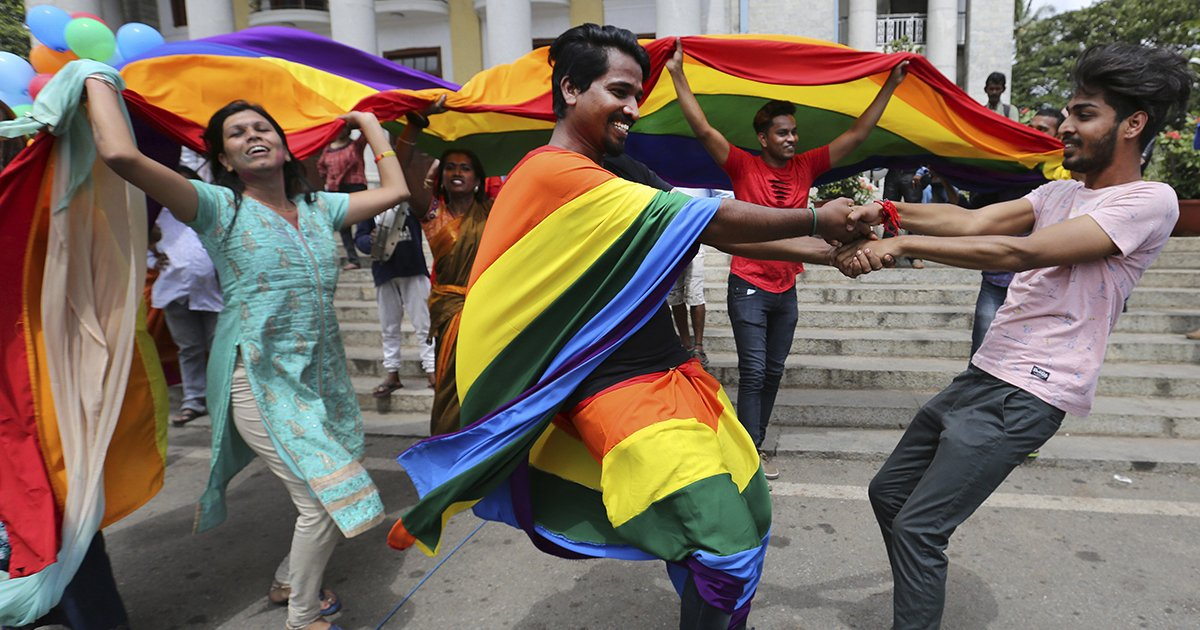 India Finally Decriminalises Homosexuality In A Great Win For Gay Rights