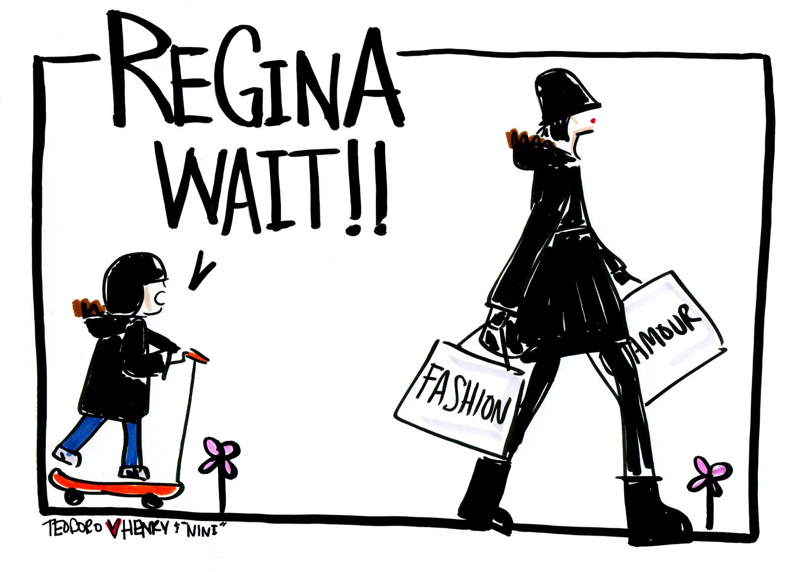 Justin Teodoro: forever young: Regina Wait!!