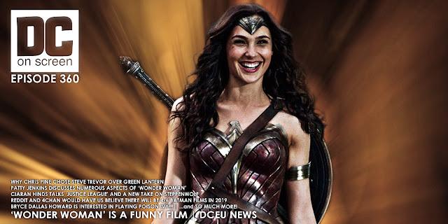 Wonder Woman laughing