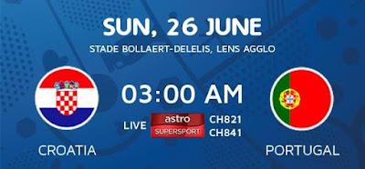 Croatia Vs Portugal EURO 2016