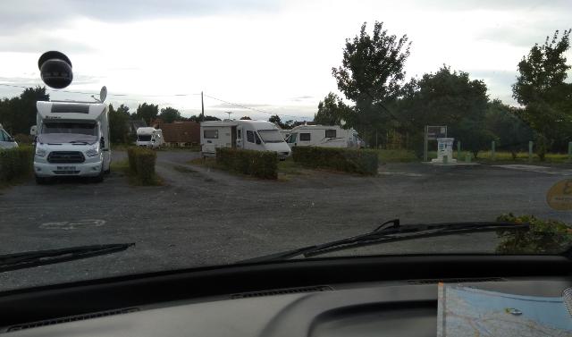 Àrea d'autocaravanes de Grandcamp–Maisy