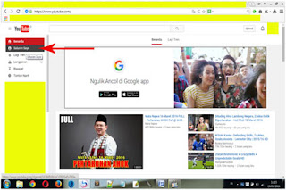 Bahasa akun youtube