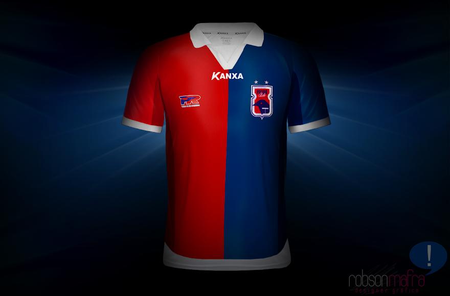 Camisa Oficial I Paraná Clube Kanxa 2012 home