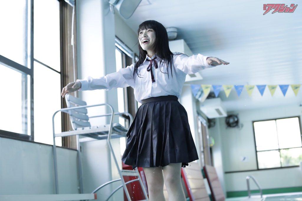 Yabuki Nako 矢吹奈子, Manga Action 2018 No.10 (漫画アクション 2018年10号)