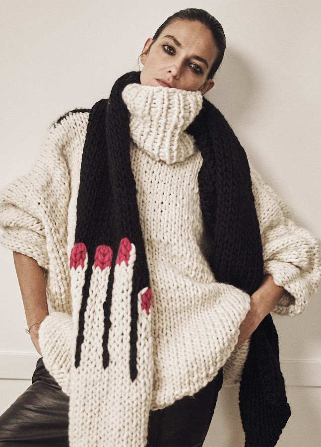 Cuddle Scarft de Laura Ponte para We are knitters