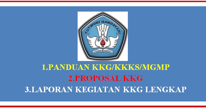 Panduan Kkg Kkks Mgmp Lengkap Proposal Amp Laporan Kegiatannya Sd Negeri 1 Asemrudung
