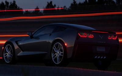 Chevrolet Corvette Stingray C7 - Fond d'écran en Full HD 1080p