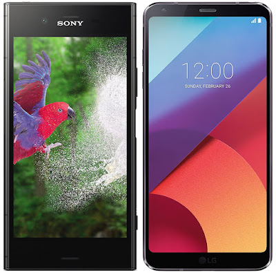 Sony Xperia XZ1 vs LG G6 (H870)