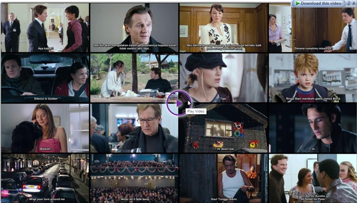 Screenshots Download Film Gratis Love Actually (2003) BluRay 480p MP4 Subtitle Indonesia 3GP Nonton Film Gratis Free Full Movie Streaming