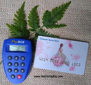 token dan kartu tahapan expresi BCA