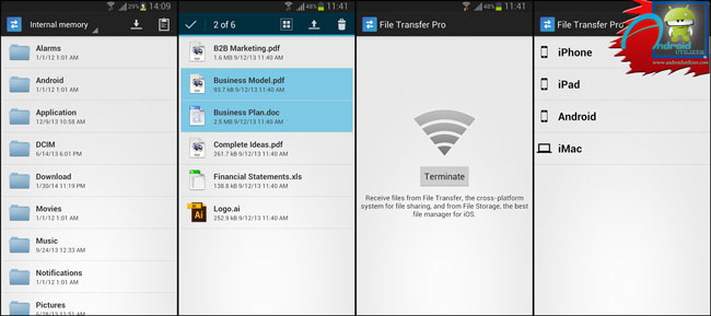 File Transfer Pro android app screenshot