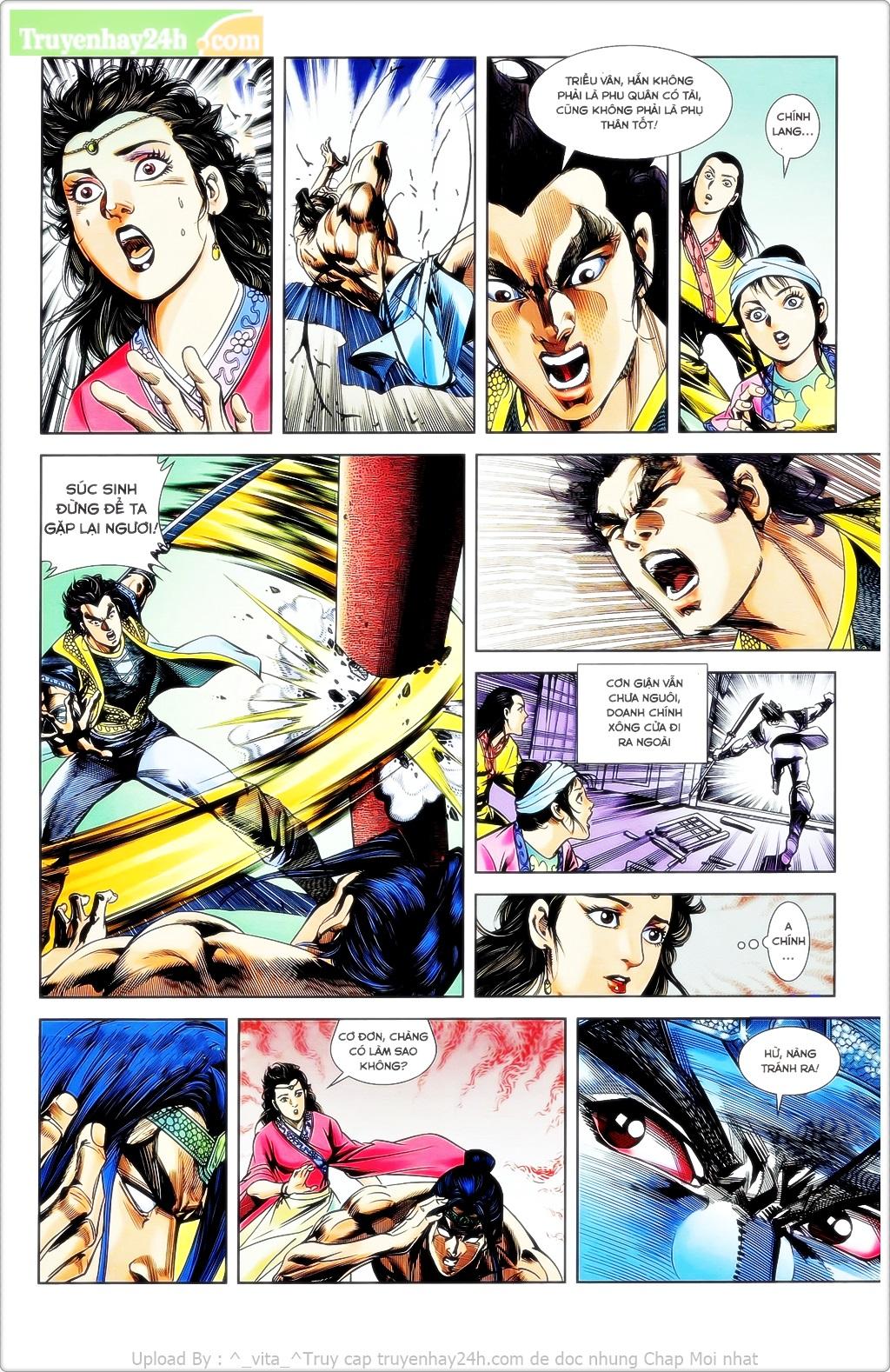 Tần Vương Doanh Chính chapter 23 trang 3