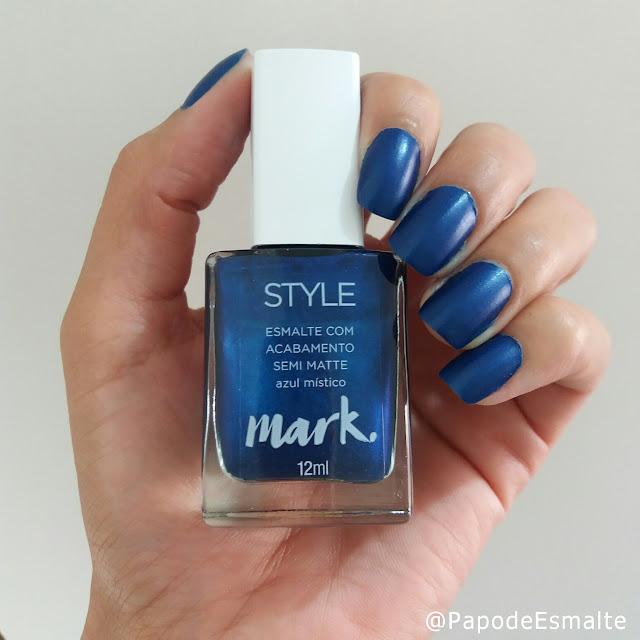 Esmalte Azul Místico - Avon