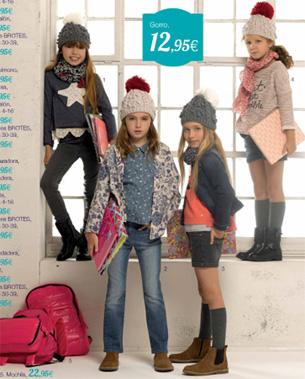 colección de moda infantil niñas vuelta al cole El Corte Inglés