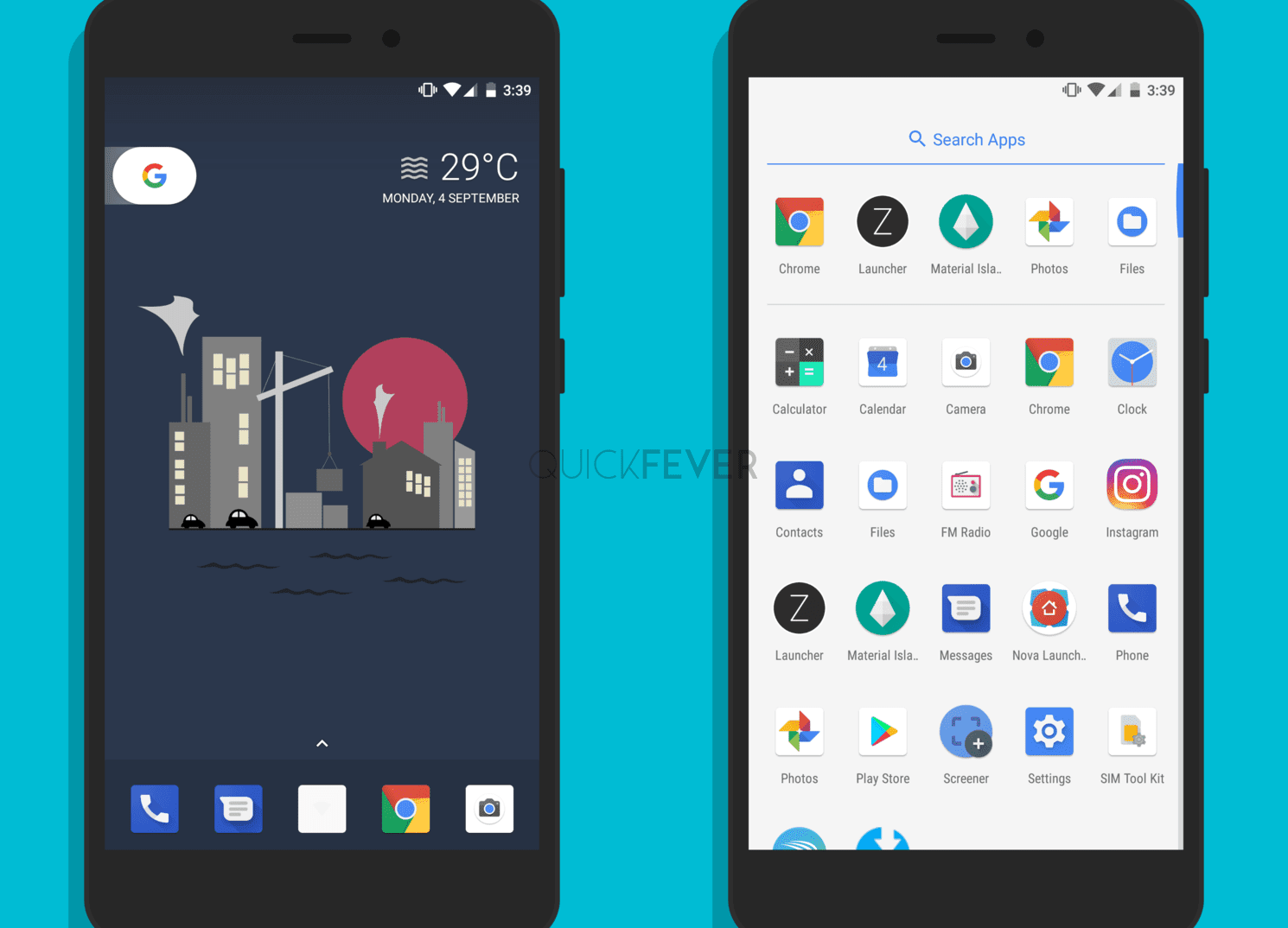 android 8 oreo launcher apps
