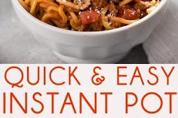 Recipe - Instant Pot Spaghetti