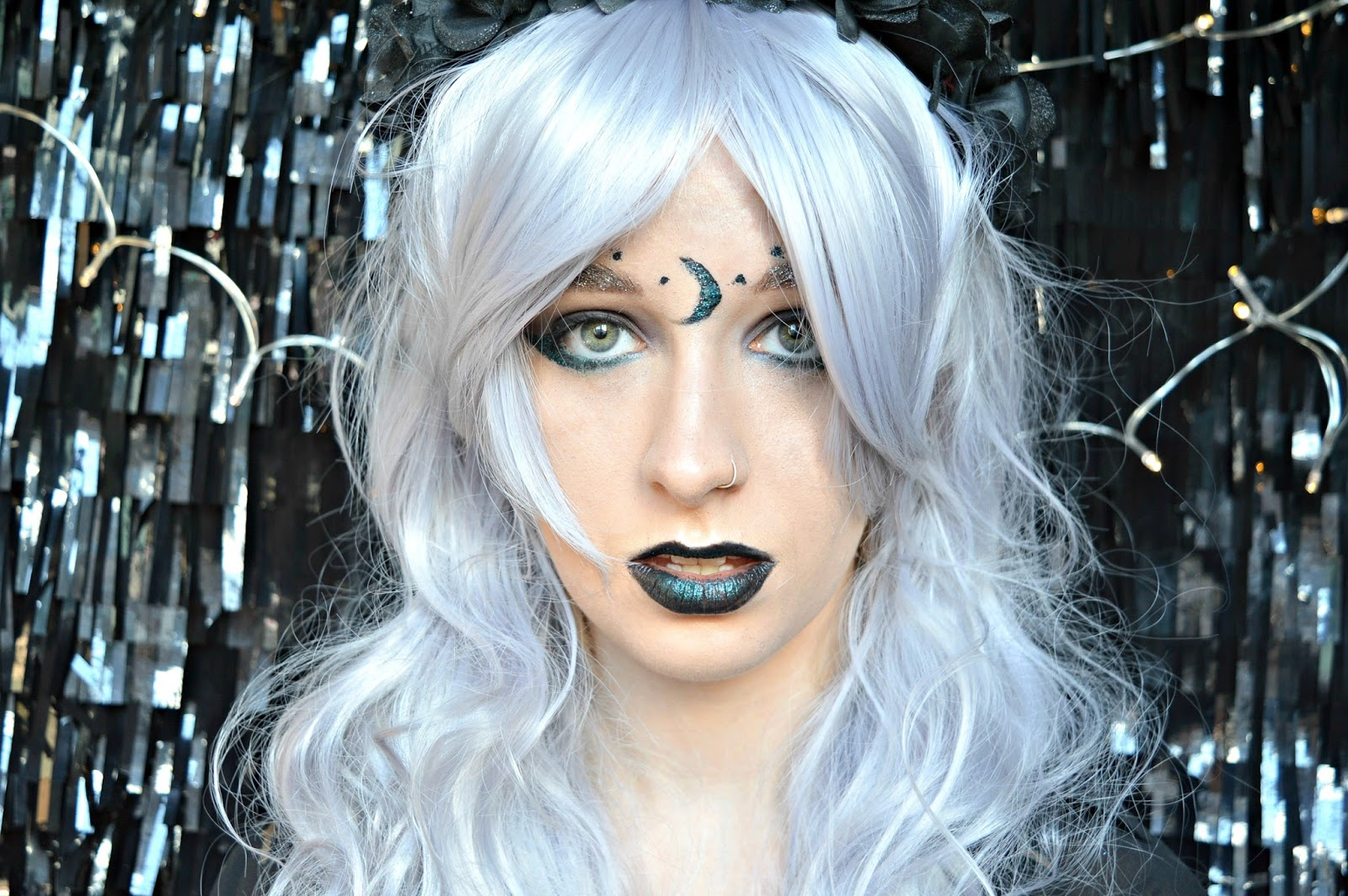 White Witch tutorial halloween makeup
