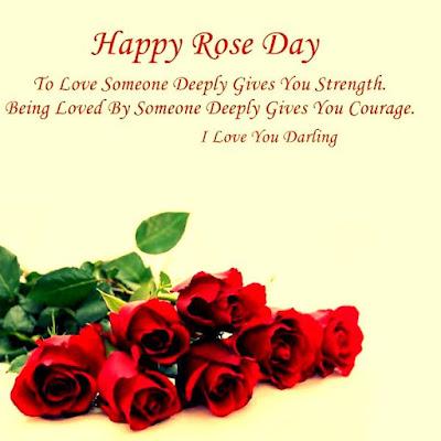 Lovely Rose Day SMS