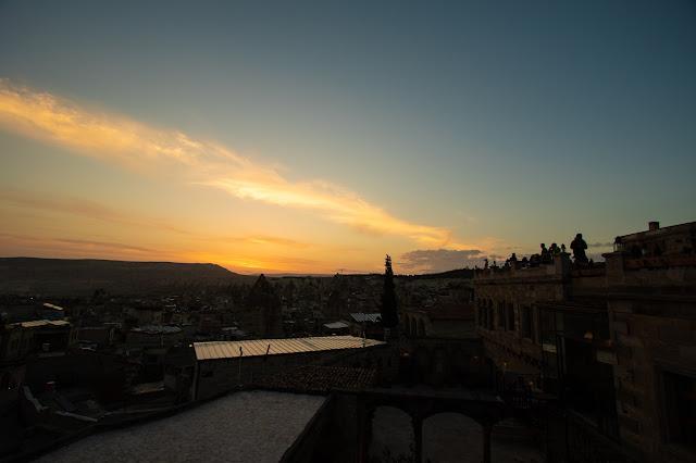 Alba su Goreme dall'hotel Seten-Cappadocia