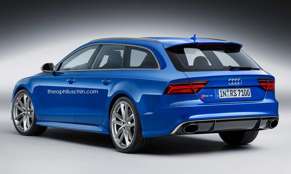 An Audi RS7 Avant Makes No Sense At All Now, Does It?