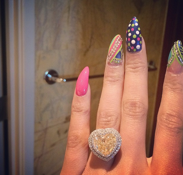 Nicki Minaj Shows Off What Looks To Be An Engagement Ring