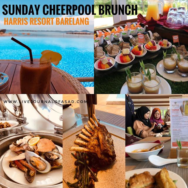 Serunya Makan Siang dan Berenang di Harris Resort Barelang dengan Paket Sunday Brunch
