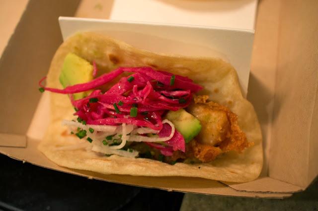 Buena Onda Tacos - Fried Mahi Mahi Tacos