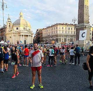 Medio Maratón Nocturno de Roma