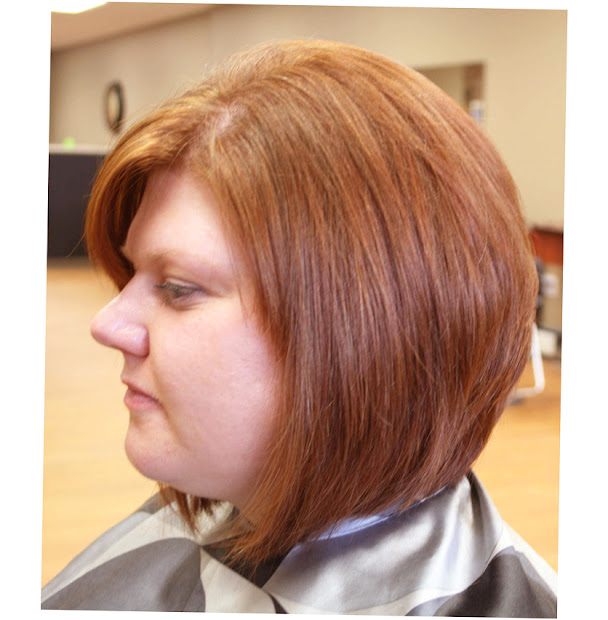 latest hairstyles fat faces