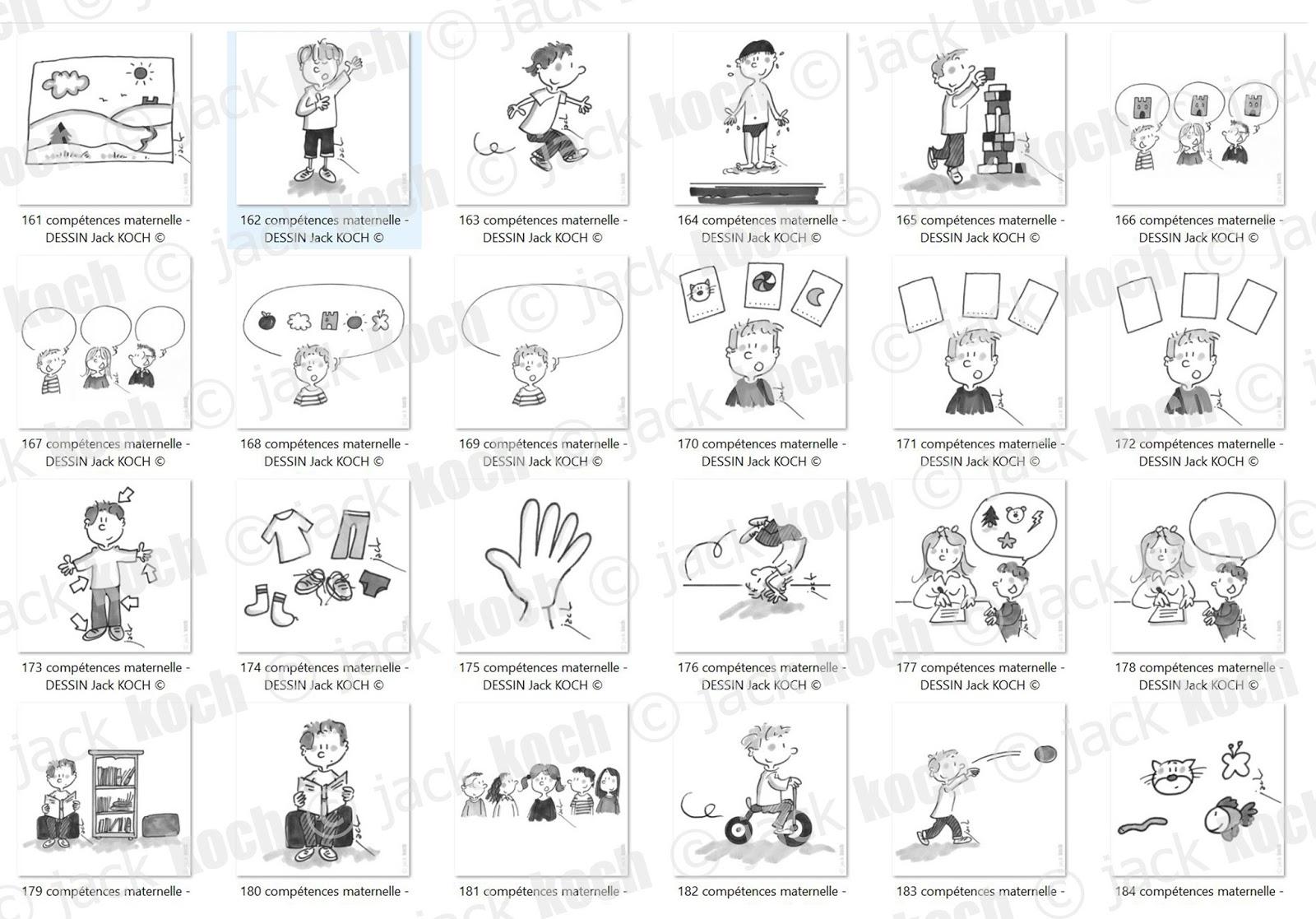 Bien connu danger école: 250 dessins maternelle TY85
