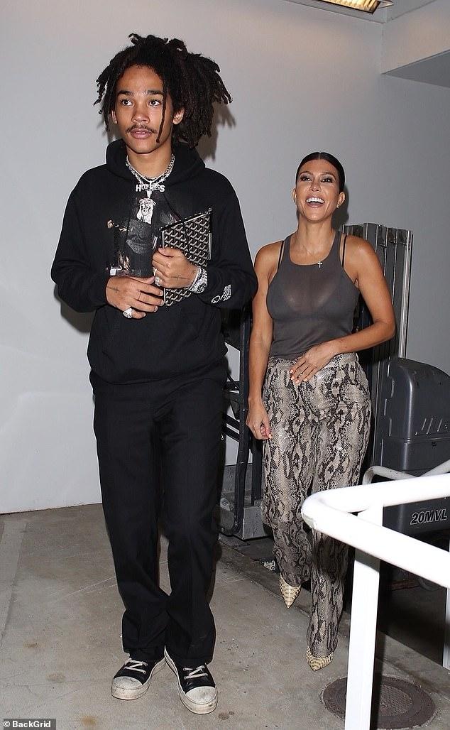 Kourtney Kardashian fuels dating rumors as she steps out with rumored beau Luka Sabbat