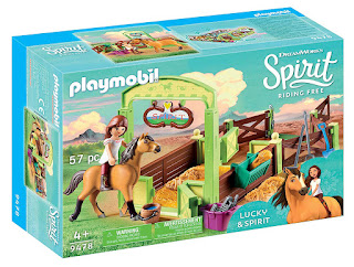 playmobil Spirit Riding Free Spirit & Lucky set