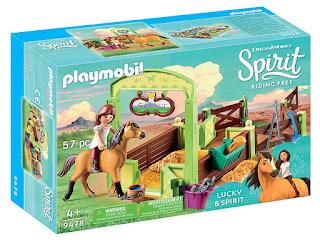 playmobil Spirit Riding Free Spirit & Lucky set