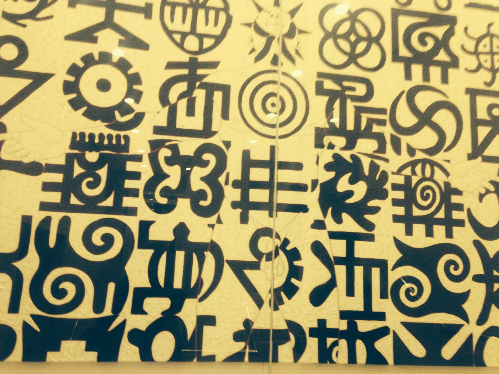 Misbeee west africa word symbol song adinkra symbol montage in the british museum biocorpaavc